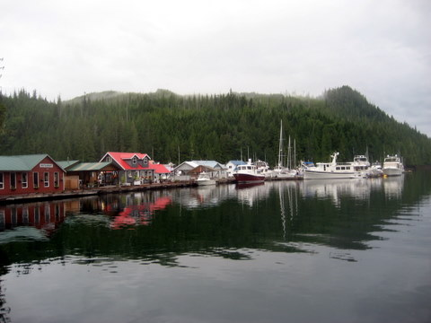 Docks are full at Sullivan Bay